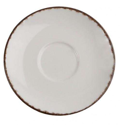 Блюдце 16.4 см Cappuccino Fortuna (к чашке 31005), бежевое, керамика