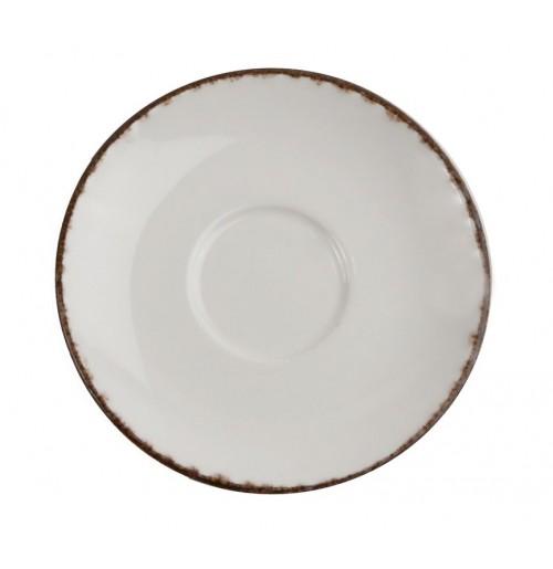 Блюдце 13.5 см Espresso Fortuna (к чашке 31007) , бежевое, керамика