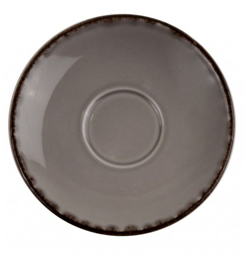 Блюдце 13.5 см Espresso Fortuna (к чашке 31017) , серое, керамика