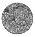 Тарелка  27.5 см  Minerva черная, керамика