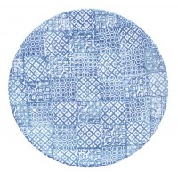 Тарелка  27.5 см  Minerva  синяя, керамика