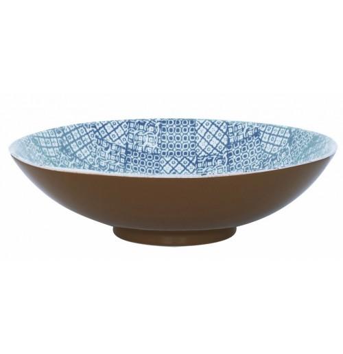 Салатник  40 см  Minerva  синий, керамика