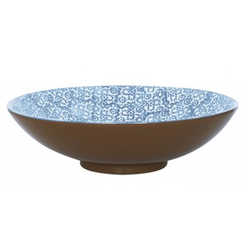Салатник  40 см  Vesta  синий, керамика