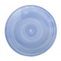 Тарелка  22 см  Ceres  синяя, керамика