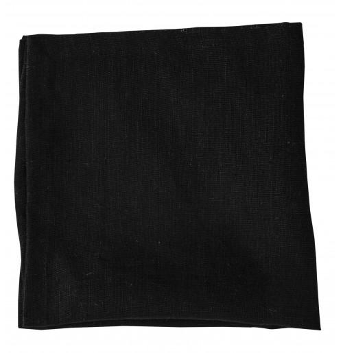 Набор салфеток 2 шт 45x45 см черных, лен