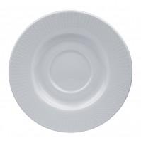 Блюдце 11.5 см Viktoria ( к чашке 33355), костяной фарфор