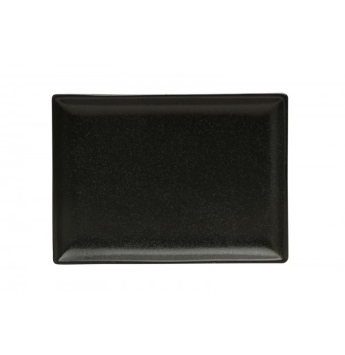 Блюдо прямоугольное 18х13 см Seasons черное, фарфор