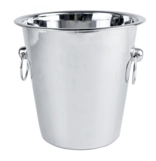 Ведёрко для льда / для охлаждения напитков 22 см, нержавеющая сталь