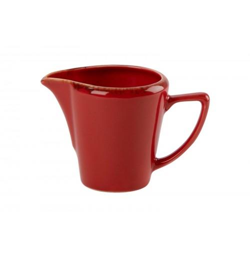 Молочник, Seasons красный, фарфо 150мл
