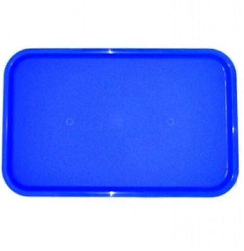 Поднос 53*33см голубой, полипропилен