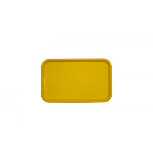 Поднос 53*33см желтый, полипропилен