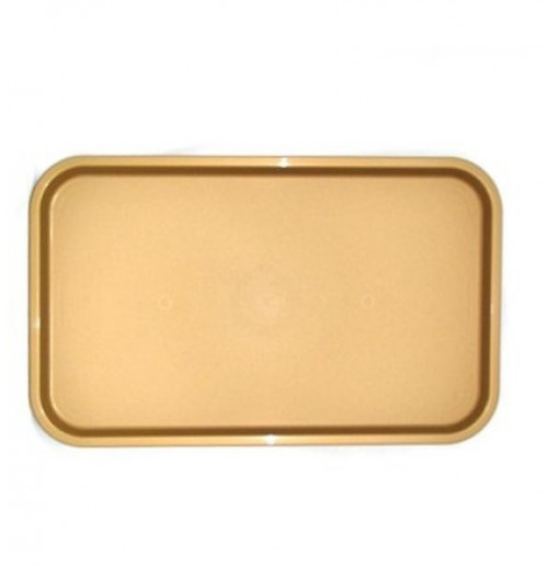 Поднос 53*33см золотой, полипропилен