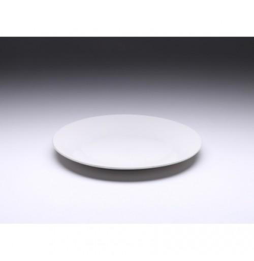 Тарелка мелкая 228 мм Tvist Ivory, фарфор
