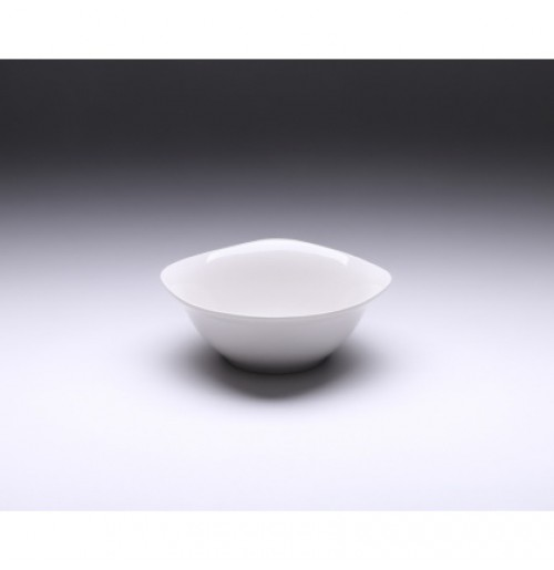 Салатник квадратный 600 мл. Tvist Ivory, фарфор