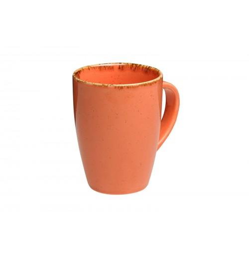 Кружка, Seasons оранжевый, фарфор 260 мл