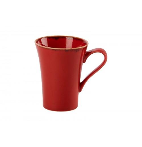 Кружка, Seasons красный, фарфор 300мл