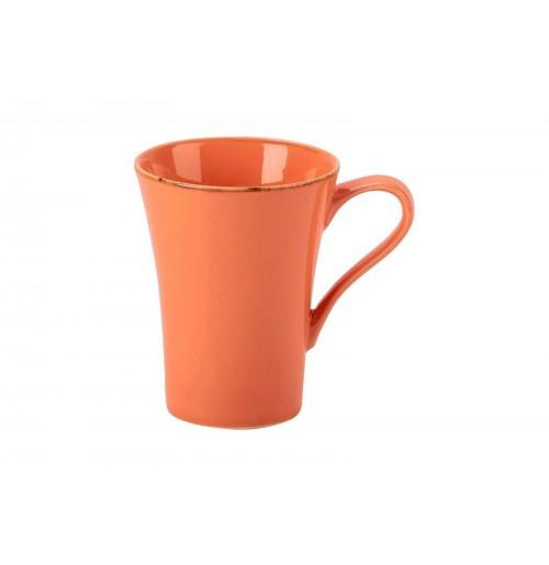 Кружка, Seasons оранжевый, фарфор 300мл