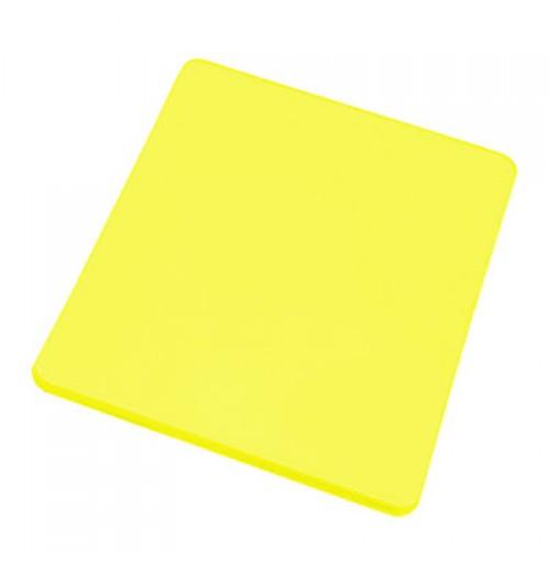 Доска разделочная 45*30 см желтая, полипропилен