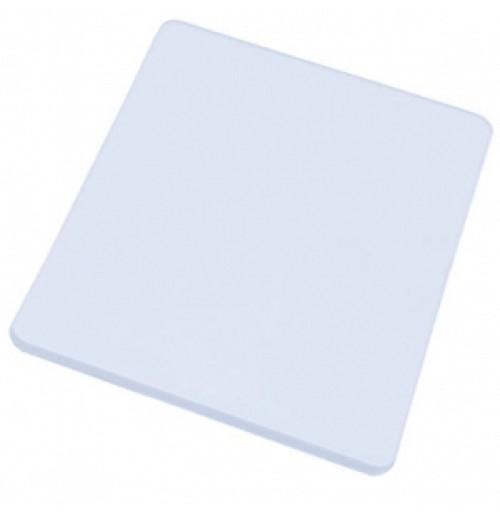 Доска разделочная 45*30 см белая, полипропилен