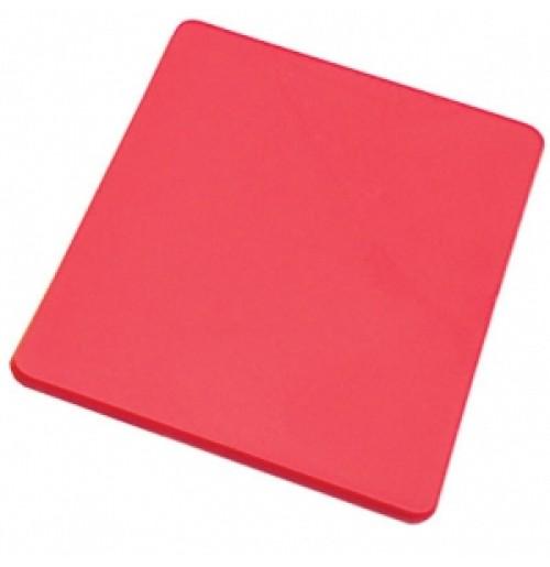 Доска разделочная 45*30 см красная, полипропилен