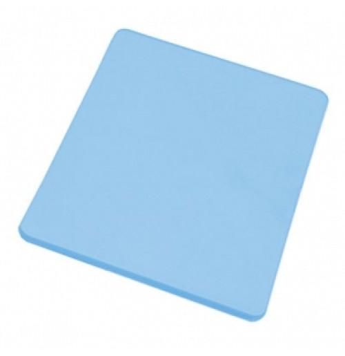 Доска разделочная 45*30 см синяя, полипропилен