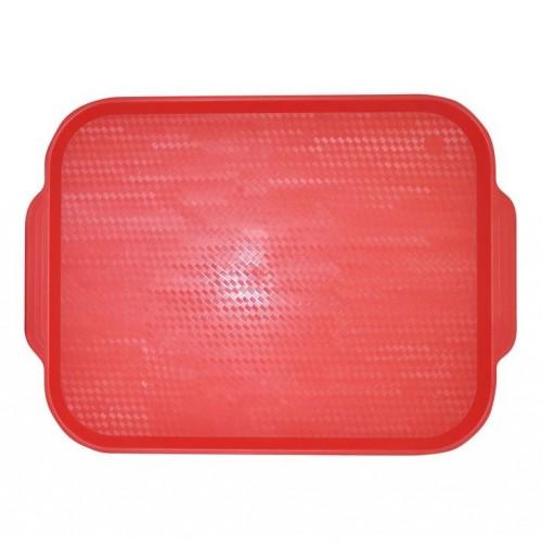Поднос 45*35,5см. красный (малиновый), полистирол