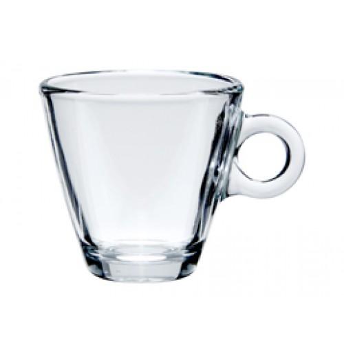 Чашка для кофе и чая 100 мл, каленое стекло