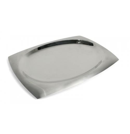 Блюдо 38.5х27.5 см, нержавеющая сталь