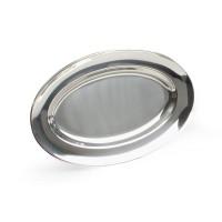 Блюдо овальное 56х36 см, нержавеющая сталь