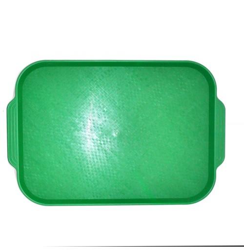 Поднос 45*35,5см. зеленый ОСОБО ПРОЧНЫЙ, полистирол