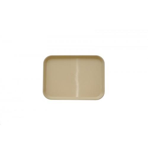 Поднос 34,5*26,5 см бежевый, полипропилен
