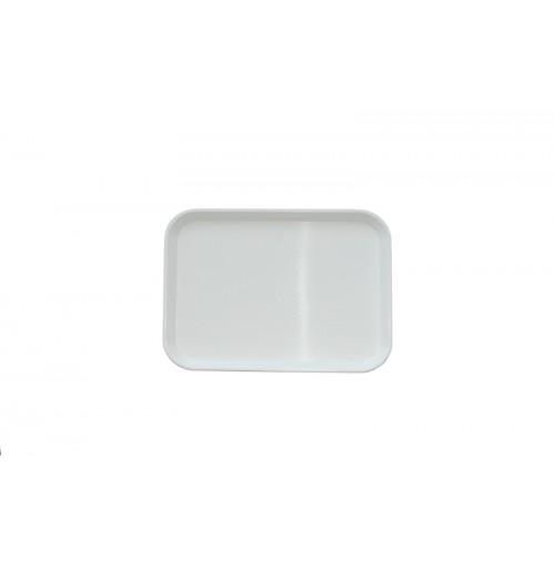 Поднос 34,5*26,5 см белый, полипропилен