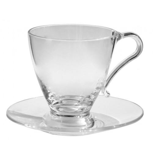 Чашка с блюдцем 220 мл, Polly поликарбонат
