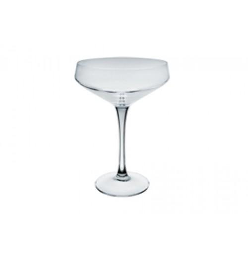 Бокал-блюдце для шампанского Coupe 300 мл, стекло