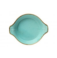 Форма для запекания, Seasons бирюзовый, фарфор 17 см