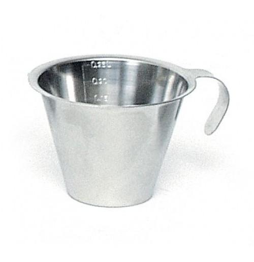 Мерная кружка 0.25 л, нержавеющая сталь