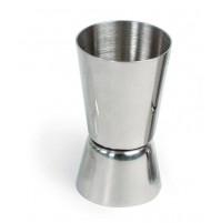 Джиггер 20/40 мл, нержавеющая сталь