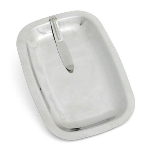 Поднос для счета 15х11 см, нержавеющая сталь