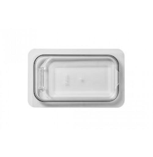 Крышка 1/4 с герметическим эффектом откидная, поликарбонат 2.0