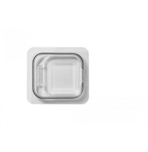 Крышка 1/6 с герметическим эффектом откидная, поликарбонат 2.0