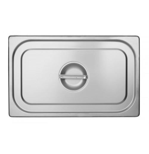 Крышка 1/1, нержавеющая сталь 2.0