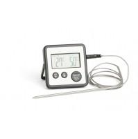 Термометр электронный со щупом и таймером, до +250С