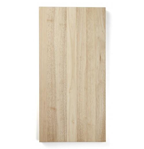 Доска деревянная разделочная 60х30 см, каучуковое дерево