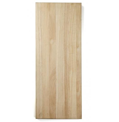 Доска деревянная разделочная 75х30 см, каучуковое дерево