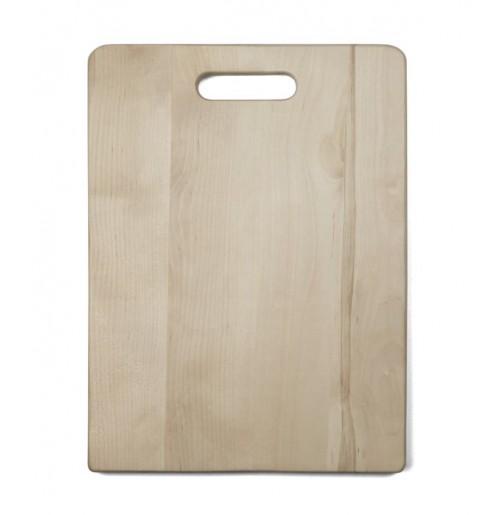 Доска деревянная разделочная 40х30 см, береза