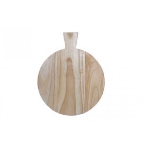 Доска сервировочная с ручкой 26 см, дерево