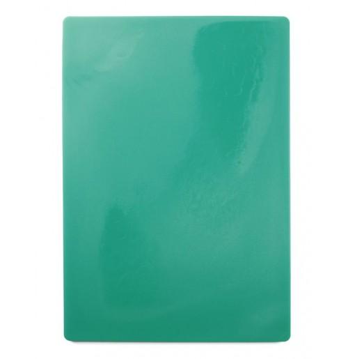 Доска пластиковая разделочная 50х35 см, зеленая