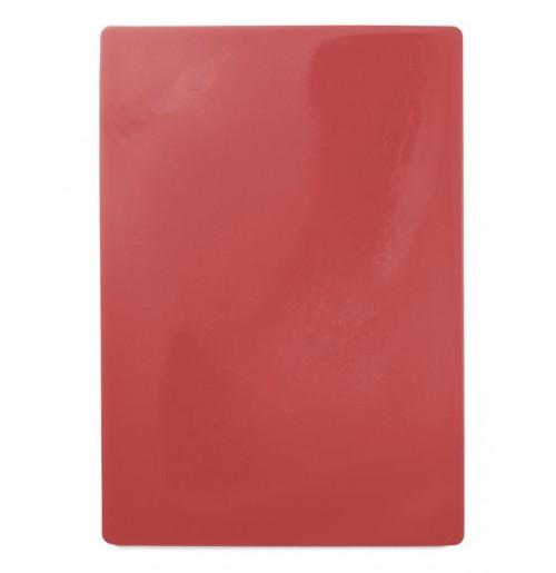 Доска пластиковая разделочная 50х35 см, красная