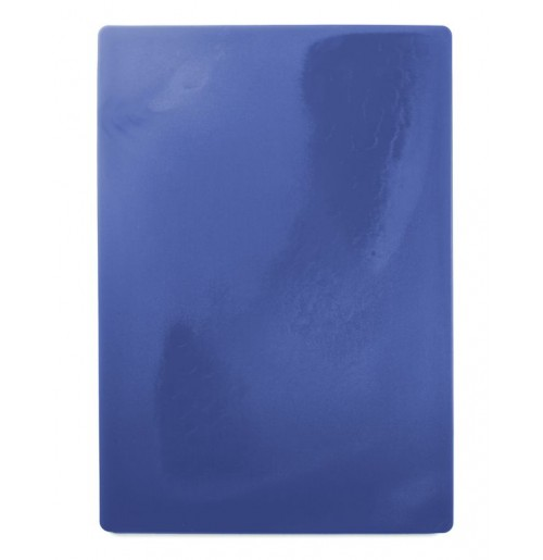 Доска пластиковая разделочная 50х35 см, синяя