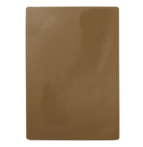 Доска пластиковая разделочная 50х35 см, коричневая
